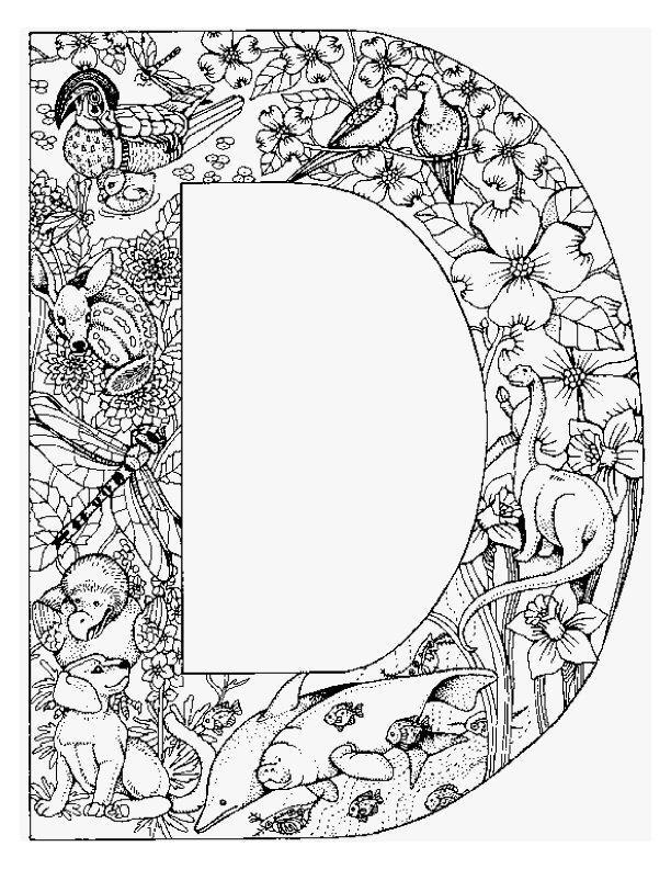 Planse De Colorat Alfabetul Cu Animale De Colorat P04