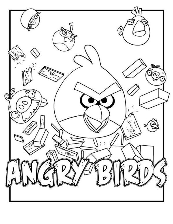 Angry birds de colorat p05