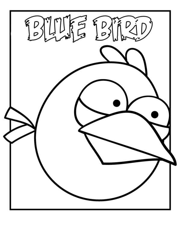Angry birds de colorat p15