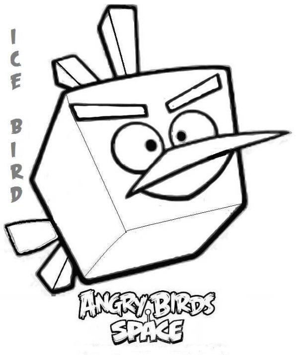 Angry birds de colorat p18