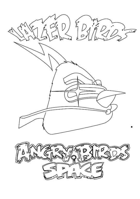 Angry birds de colorat p20