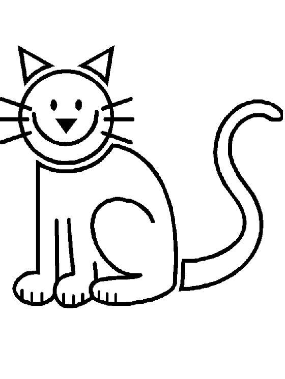 Animale pisici de colorat p53