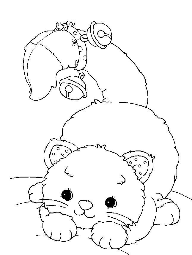 Planse De Colorat Animale Pisici De Colorat P59 Desene De