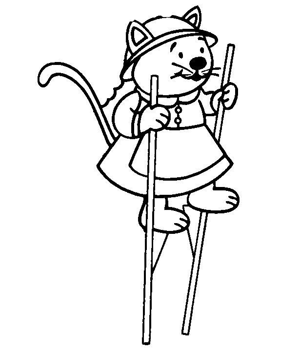 Animale pisici de colorat p76
