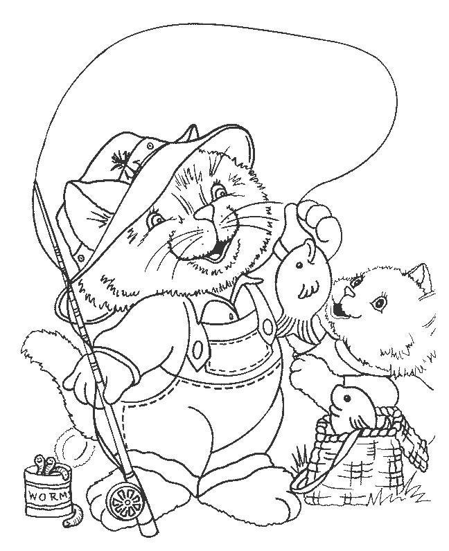 Animale pisici de colorat p83