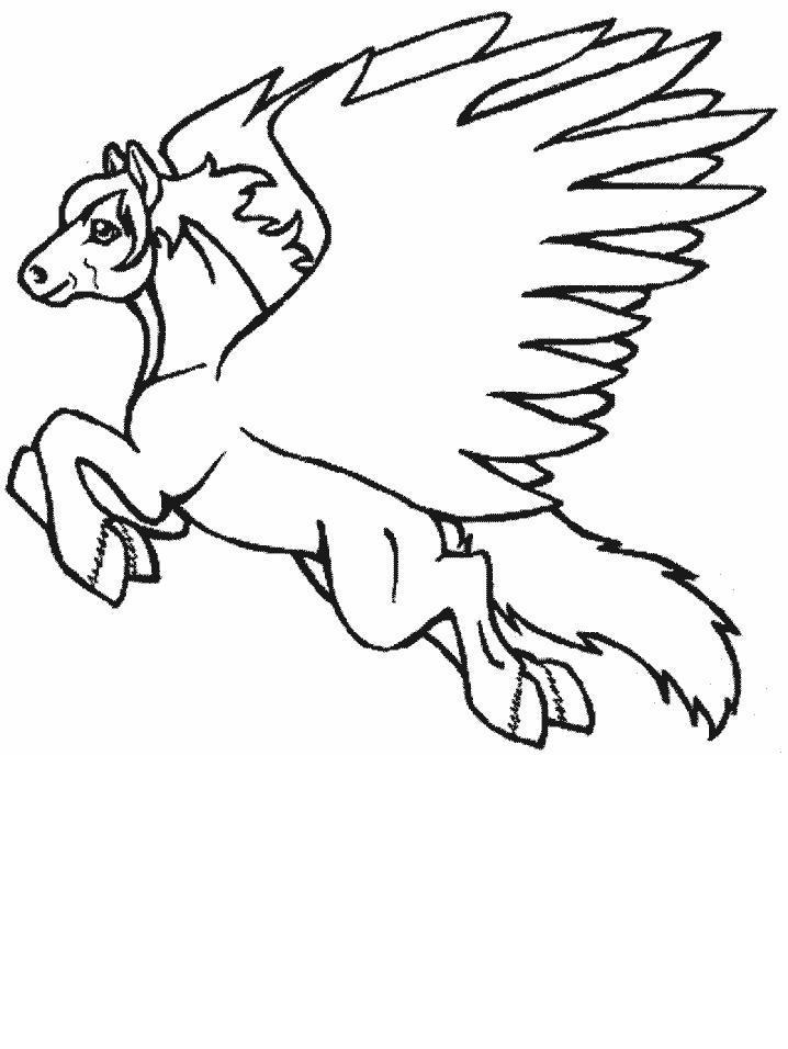 Planse De Colorat Animale Unicorni De Colorat P11 Desene
