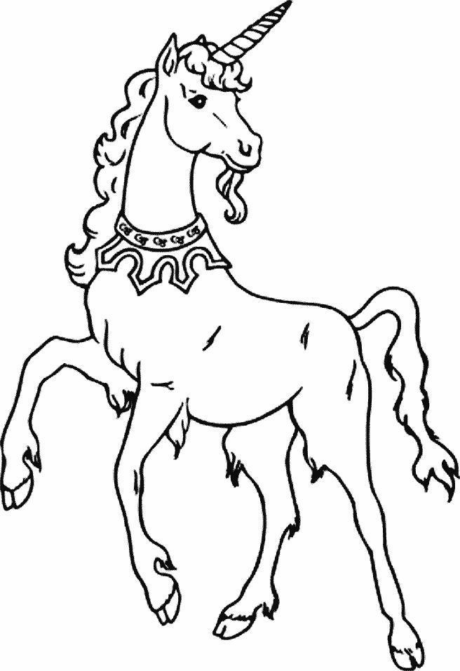 Planse De Colorat Animale Unicorni De Colorat P20 Desene