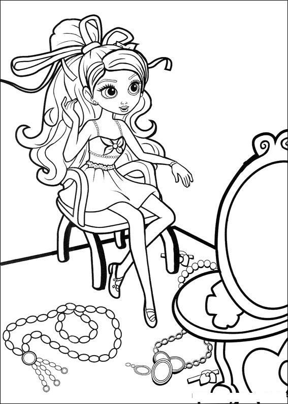 Planse De Colorat Barbie Thumbelina De Colorat P27 Desene