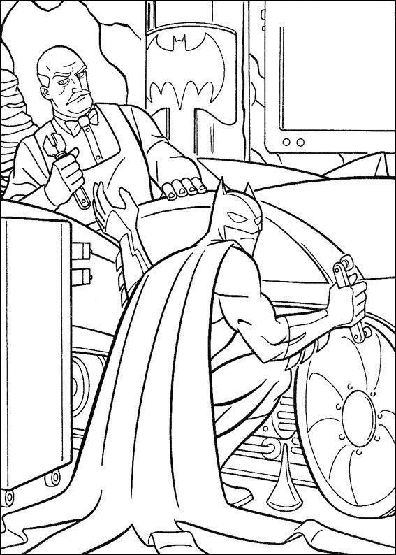 Planse De Colorat Cu Batman Desene De Colorat Cu Batman
