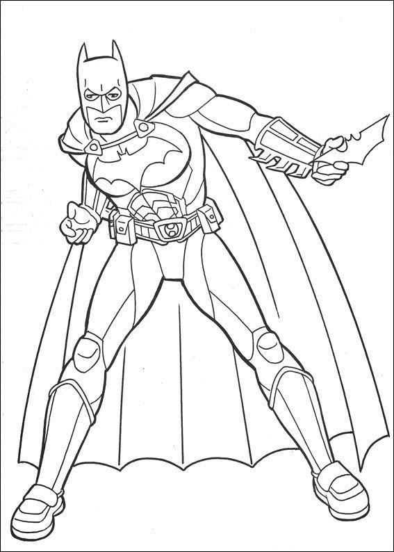 Planse De Colorat Batman De Colorat P45 Desene De Colorat