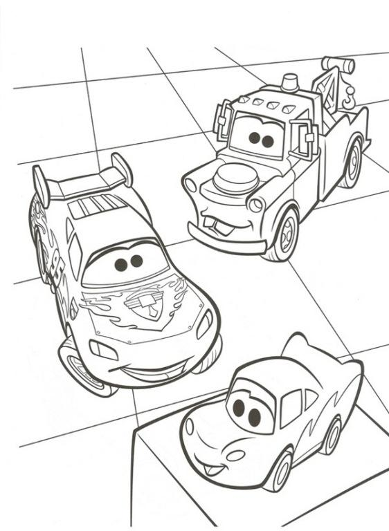 Planse de colorat Cars de colorat