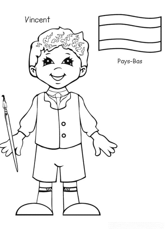 Planse De Colorat Copii De Pretutindeni De Colorat P14