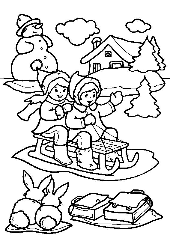 Planse De Colorat Craciun Copii De Colorat P05 Desene De