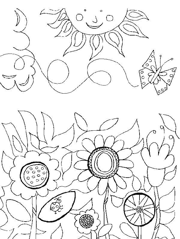 Flori de colorat p61
