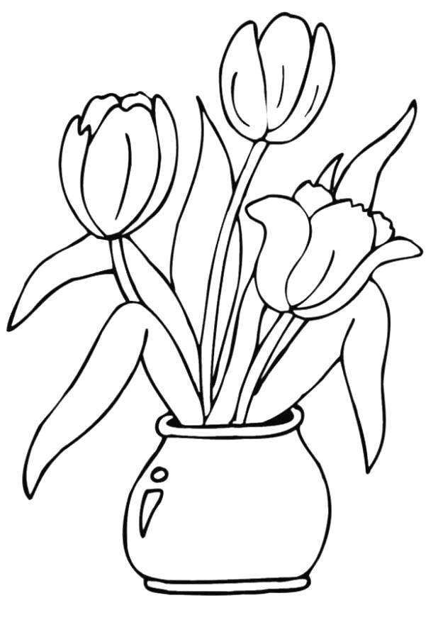 Planse De Colorat Flori De Colorat P63 Desene De Colorat