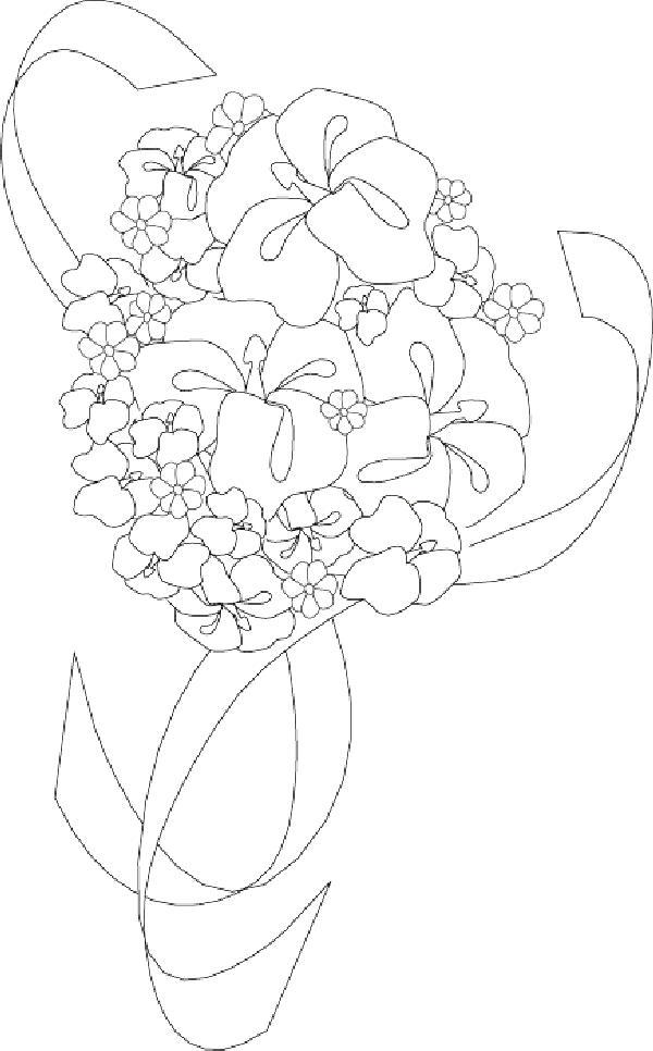 Flori de colorat p70