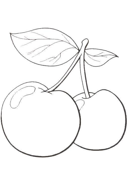 Planse De Colorat Fructe Si Legume De Colorat P49 Desene