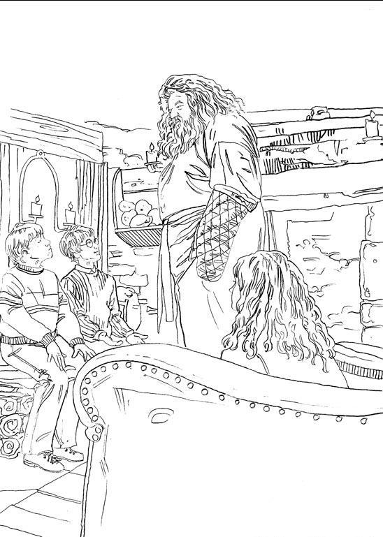 Planse De Colorat Harry Potter De Colorat P07 Desene De