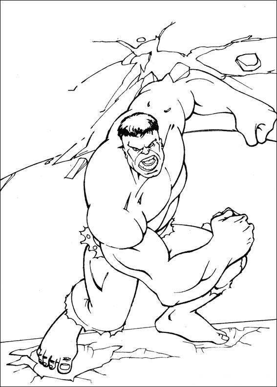 Planse De Colorat Hulk De Colorat P79 Desene De Colorat