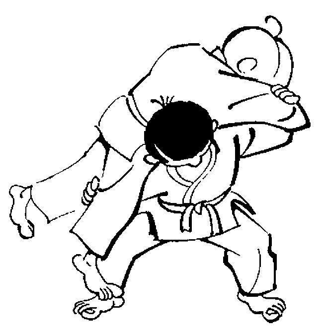 Planse De Colorat Judo De Colorat P05 Desene De Colorat