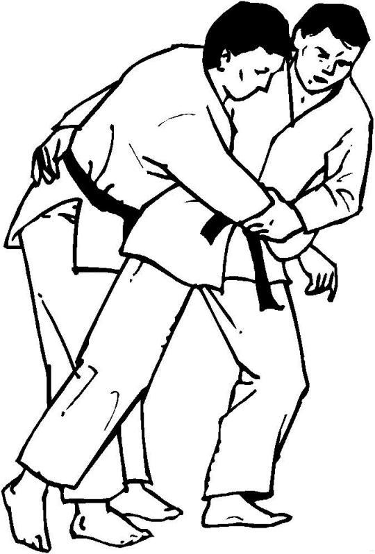 Planse De Colorat Judo De Colorat P22 Desene De Colorat