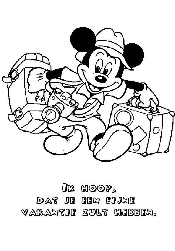 Planse De Colorat Mickey Mouse De Colorat P11 Desene De