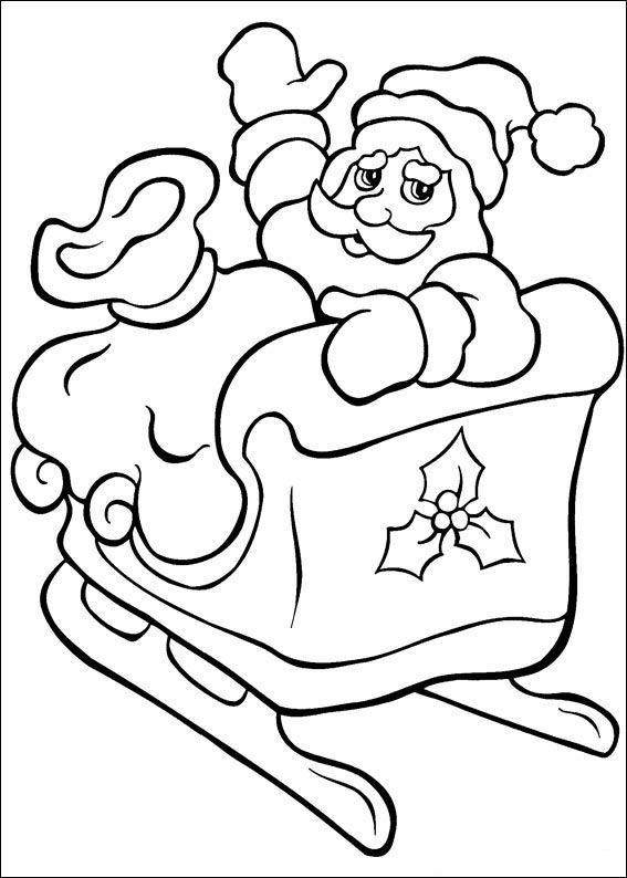 Planse De Colorat Mos Craciun De Colorat P26 Desene De