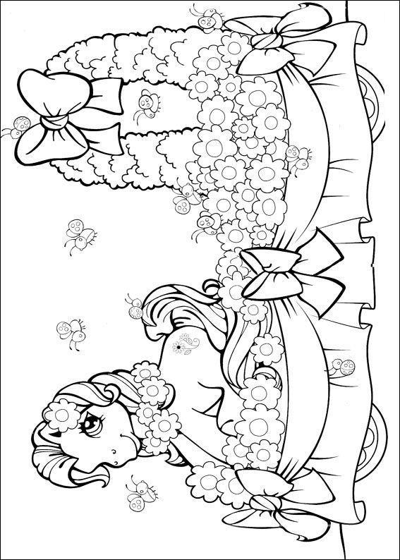 My Little Pony Kleurplaat Verjaardag Planse De Colorat My Little Poney De Colorat P44 Desene