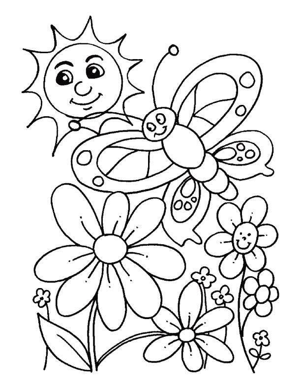 Planse De Colorat Primavara De Colorat P88 Desene De