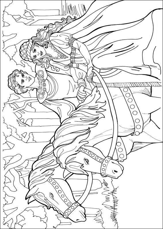 Planse De Colorat Printesa Leonora De Colorat P11 Desene