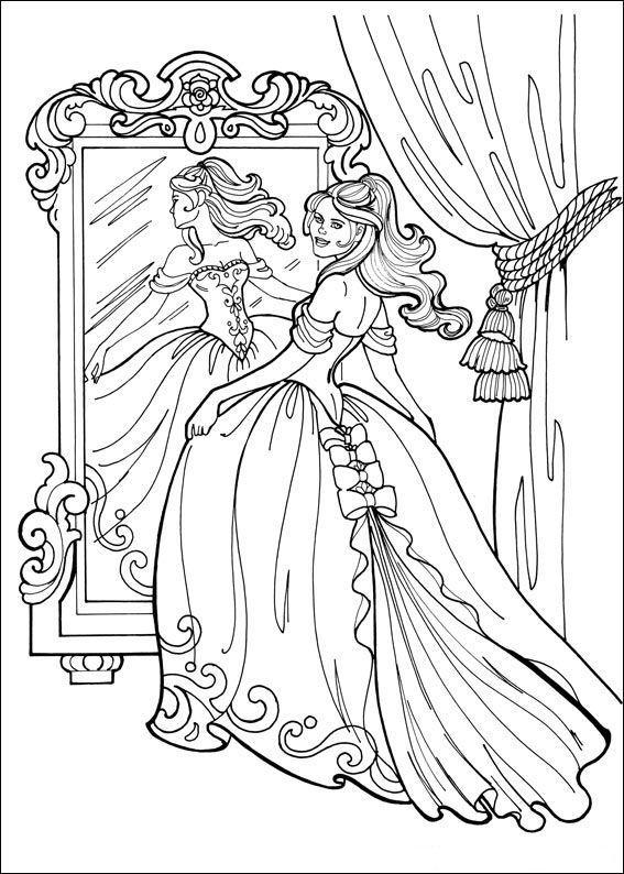 Planse De Colorat Printesa Leonora De Colorat P25 Desene