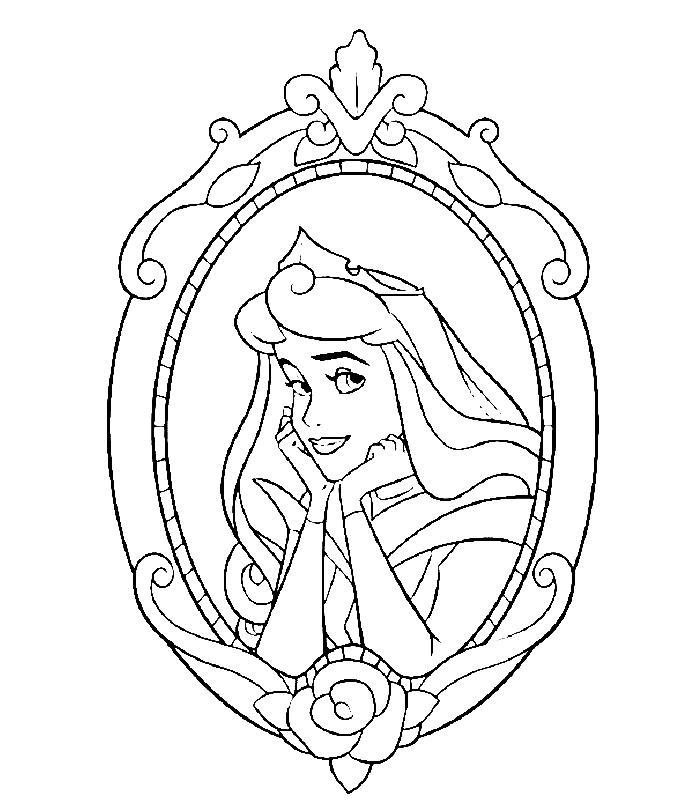 Planse De Colorat Printesele Disney De Colorat P08 Desene