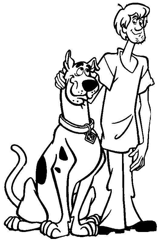 Planse De Colorat Scooby Doo De Colorat P10 Desene De