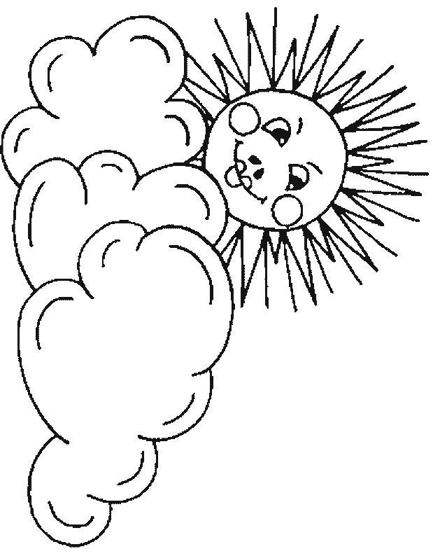 Planse De Colorat Soarele De Colorat P29 Desene De