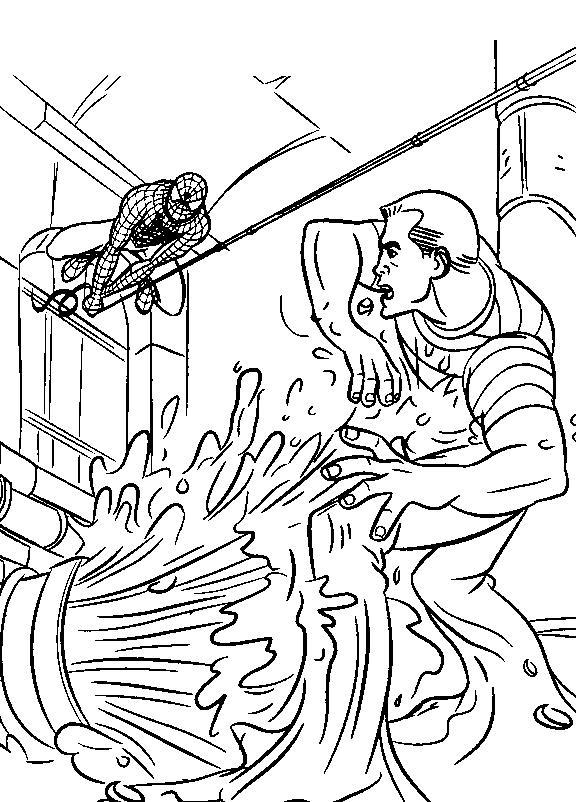 Planse De Colorat Spiderman De Colorat P06 Desene De