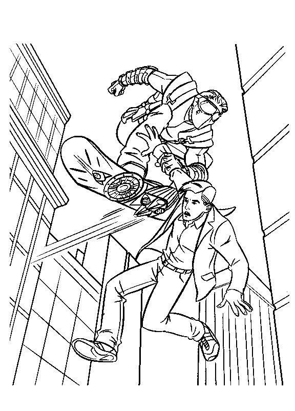 Planse De Colorat Spiderman De Colorat P11 Desene De