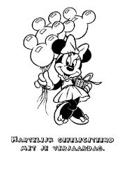 plansa de colorat mickey mouse #13