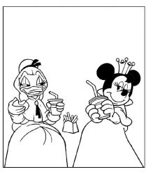 plansa de colorat mickey mouse #56