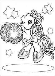 plansa de colorat my little poney #62