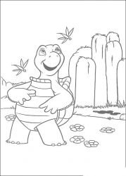 plansa de colorat over the hedge #2