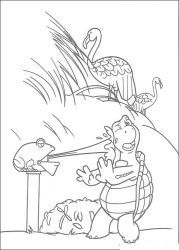 plansa de colorat over the hedge #5