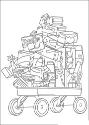 plansa de colorat over the hedge #12