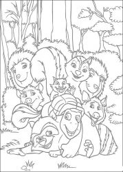 plansa de colorat over the hedge #13
