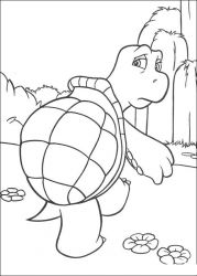 plansa de colorat over the hedge #18