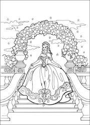 Planse De Colorat Cu Printesa Leonora Desene De Colorat Cu