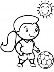 Planse De Colorat Cu Sport Desene De Colorat Cu Sport