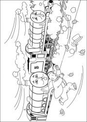 plansa de colorat thomas the train #18