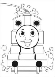 plansa de colorat thomas the train #27