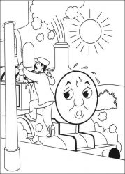 plansa de colorat thomas the train #40