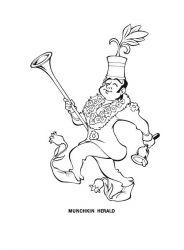 Planse De Colorat Cu Vrajitorul Din Oz Desene De Colorat